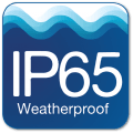 IP65 Weatherproof