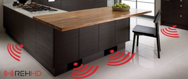 REHHD kitchen pliith infrared heater