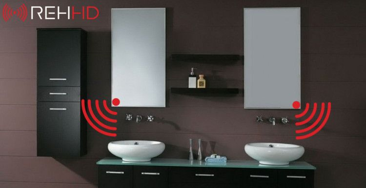 Mirror infrared heaters rehhd - Infrared bathroom ceiling heaters ...