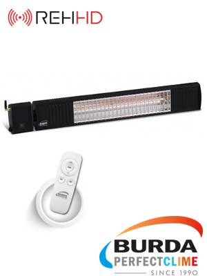 TERM 2000 IP67 LOW GLARE Bluetooth Infrared Outdoor Heater